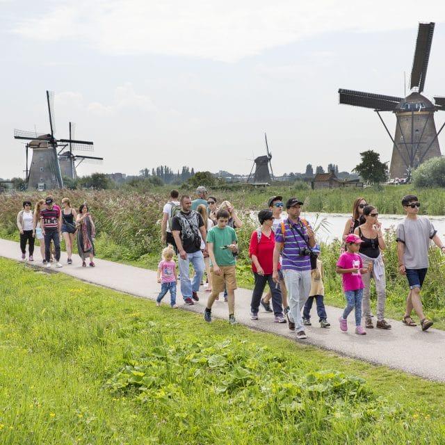wandelen - toeristen